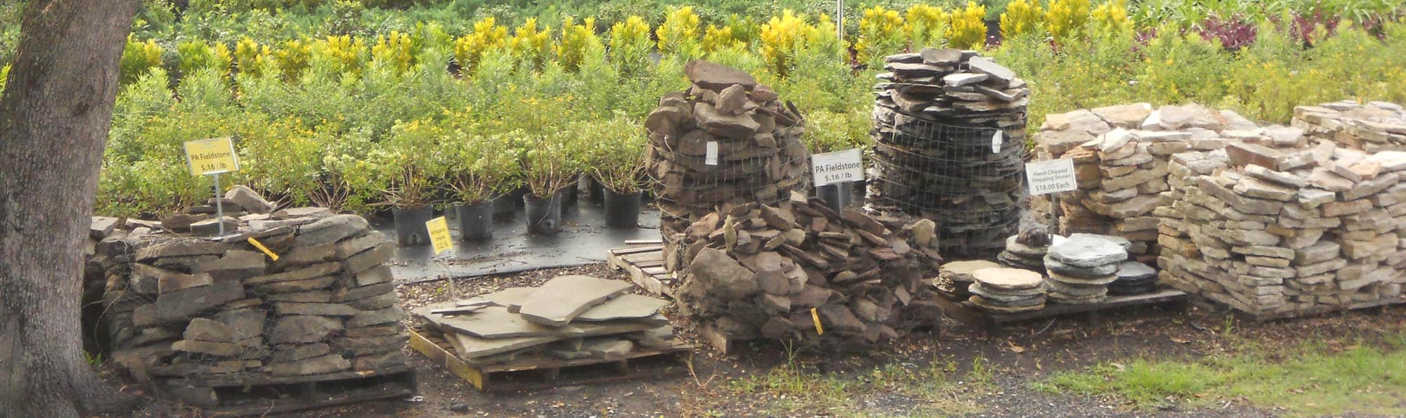 Landscaping supplies in bulk