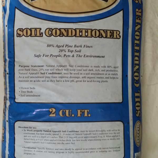 soil conditioner natural appeal
