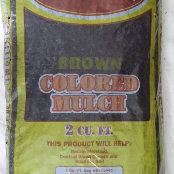 Natural Appeal Chocolate (Brown) Dyed Mulch - BAG