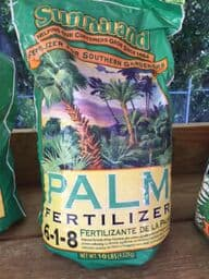 6-1-8 Palm Fertilizer 10 lb. BAG